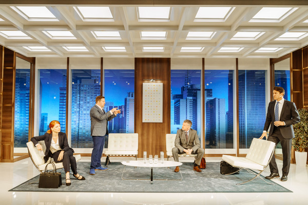 Photo Flash: First Look at THE GRONHOLM METHOD at Menier Chocolate Factory
