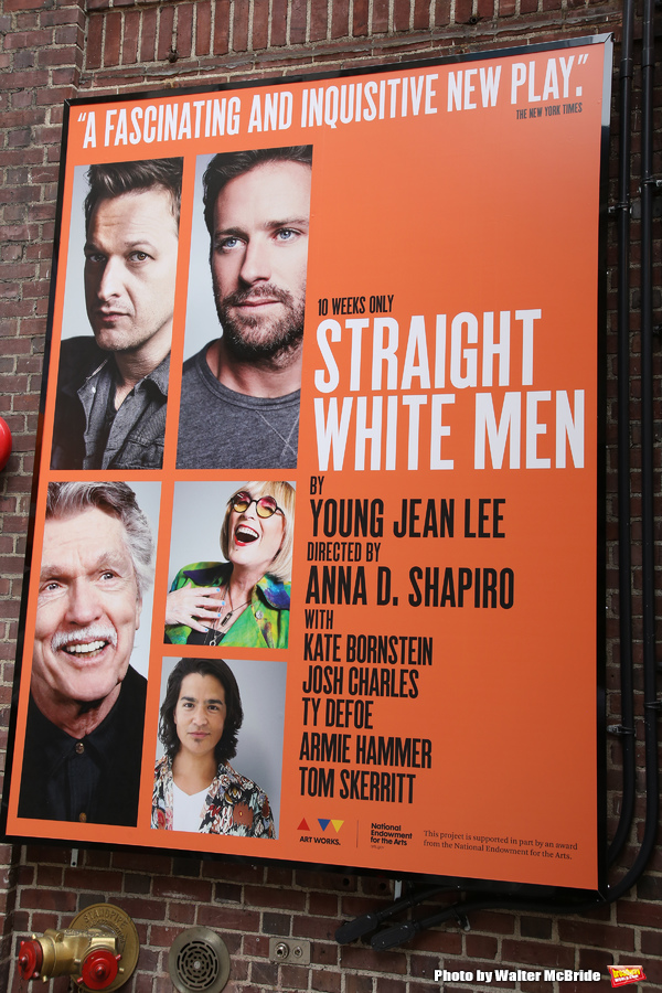 Up on the Marquee: STRAIGHT WHITE MEN