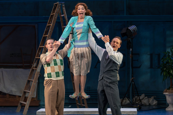 Brian Shepard (Cosmo Brown), Tessa Grady (Kathy Selden) and Danny Gardner (Don Lockwo Photo