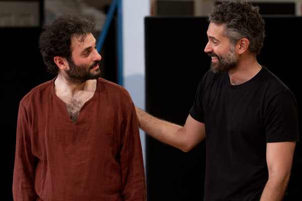 Omar  Metwally and  Arian  Moayed Photo