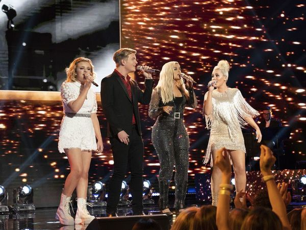 Maddie Poppe, Caleb Lee Hutchinson, Bebe Rexha, Gabby Barrett Photo