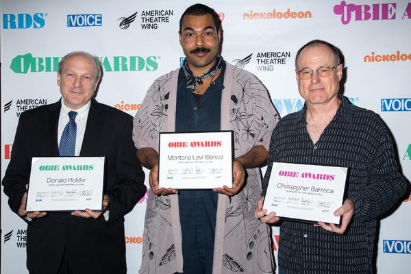 Donald Holder, Montana Levi Blanco, Christopher Barreca