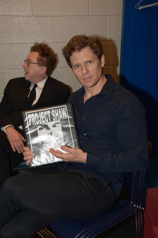 Photo Coverage: Backstage with the Cast of THE DOCTOR'S DILEMMA; Lenny Wolpe, Lisa O'Hare, and More