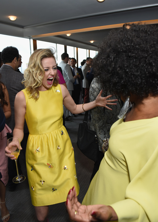 Taylor Louderman and LaChanze