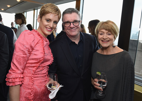 Denise Gough, Nathan Lane, and Susan Brown  Photo