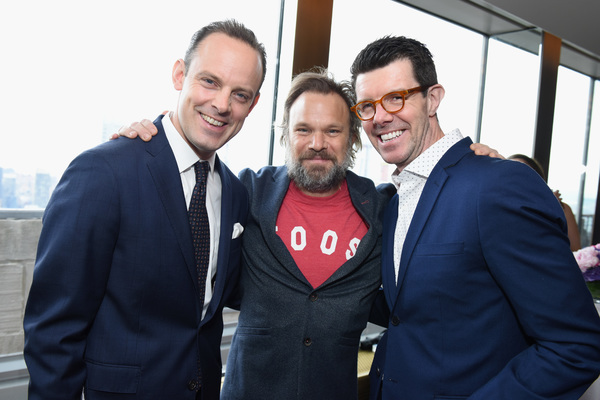 Harry Hadden-Paton, Norbert Leo Butz, and Gavin Lee