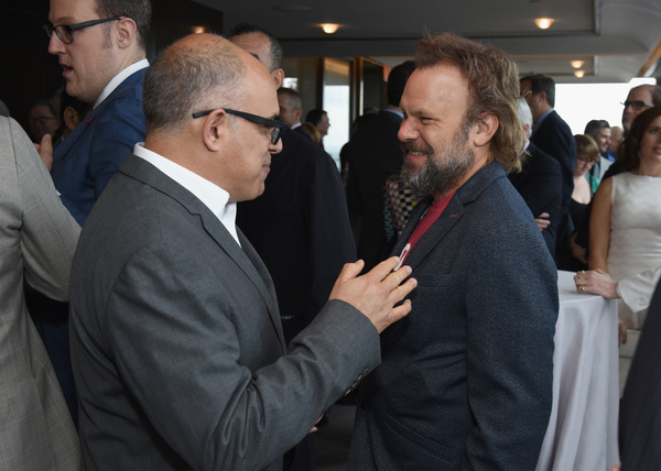 David Yazbek and Norbert Leo Butz