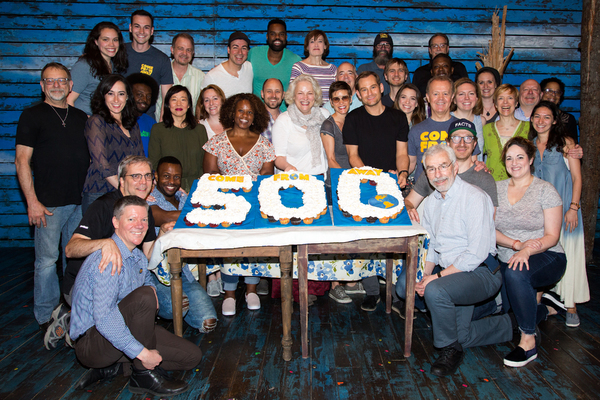 Photo Coverage: COME FROM AWAY Celebrates 500 Performances on Broadway!