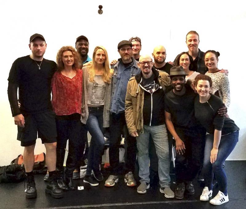 Writer Erik Jensen Visits the Cast of The Secret Theatre's EXONERATED