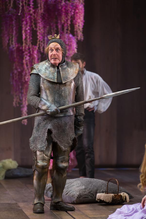 Floyd King as King Pellinore in Lerner & Loewe's Camelot Photo
