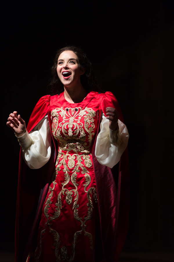Alexandra Silber as Guenevere in Lerner & Loewe's Camelot