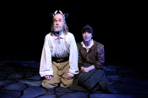 John Basiulis (as Bessy), Meg Rumsey-Lasersohn (as Edward).