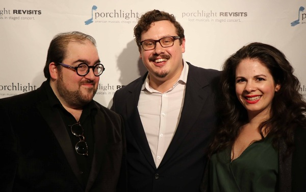 Music Director David Fiorello, Director and Choreographer Christopher Pazdernik and Associate Choreographer and Actress Jenna Schoppe