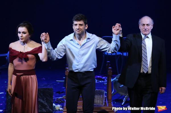 Irina Dvorovenko, Tony Yazbeck and Peter Friedman