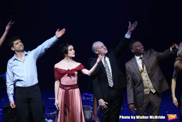 Photo Coverage: The Cast of THE BEAST IN THE JUNGLE Takes its Opening Night Bows