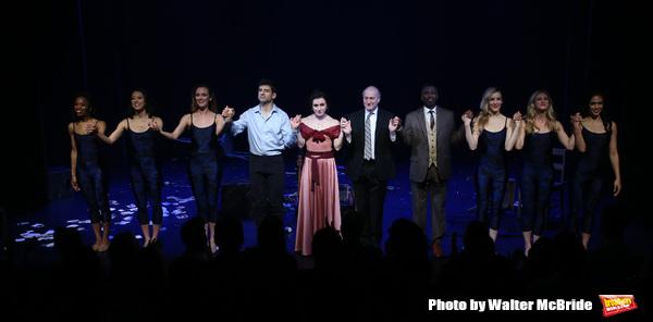 Tony Yazbeck, Irina Dvorovenko, Peter Friedman, Teagle F. Bougere and cast