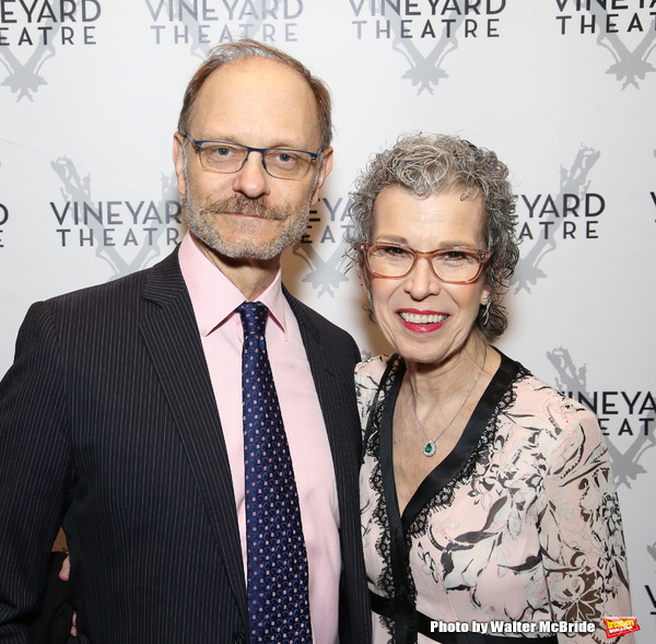 David Hyde Pierce and guest