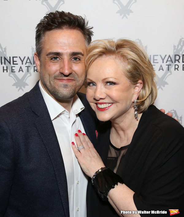 Eric Santagata and Susan Stroman Photo