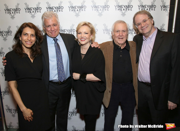 Sarah Stern, David Thompson, Susan Stroman, John Kander and Douglas Aibel