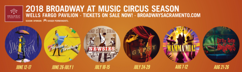 Carolee Carmello, Kara Lindsay, Ken Page and More Announced For 2018 Broadway At Music Circus Season in Sacramento