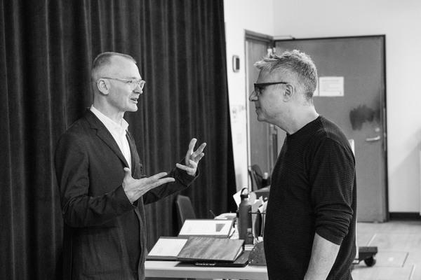Darko Tresnjak (director) & Neil Pepe (Artistic Director)