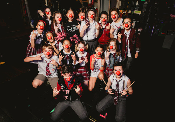 Photo Flash: SCHOOL OF ROCK Celebrates Red Nose Day Plus Special Contest!