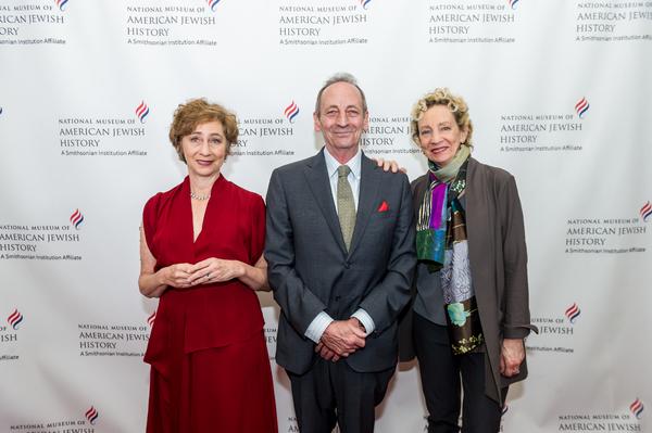 Honorees Nina Bernstein Simmons, Alexander Bernstein, and Jamie Bernstein