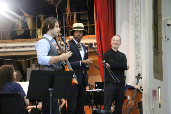 Photo Flash: Beatboxer And Electric Cellist Mix It Up At The PSO BRAVO! School Day Concert