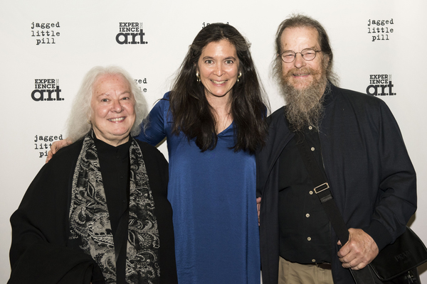 Diane  Paulus  with  Helen  and  David  Meyer Photo
