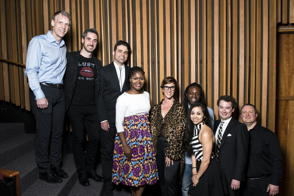 Alanis  Morissette  with  Bryan  Perri  and  members  of  the  Band Photo