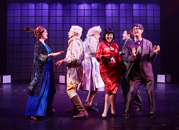 Photo Flash: Flat Rock Playhouse Presents CLUE THE MUSICAL