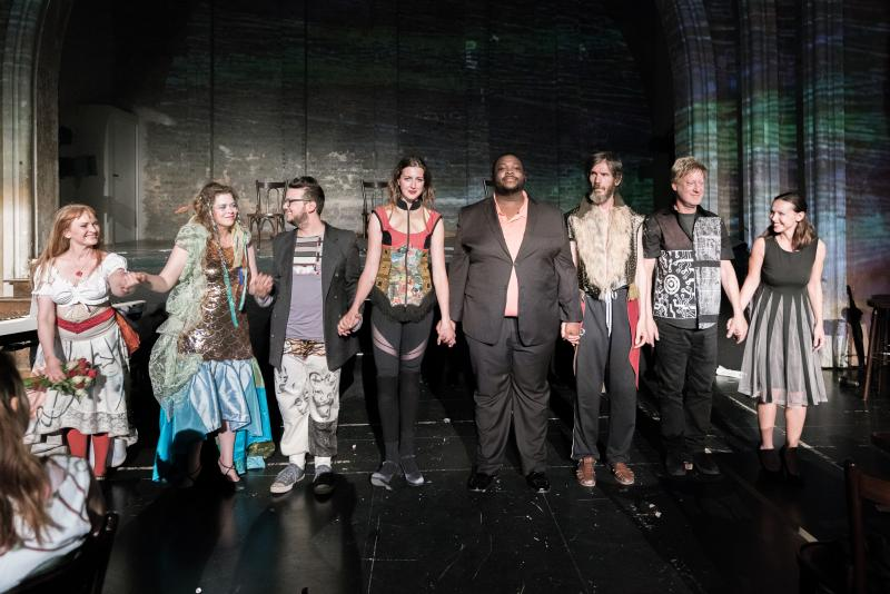 BWW Review: THE WANDERING at Theater Im Delphi - A World Premiere with potential.