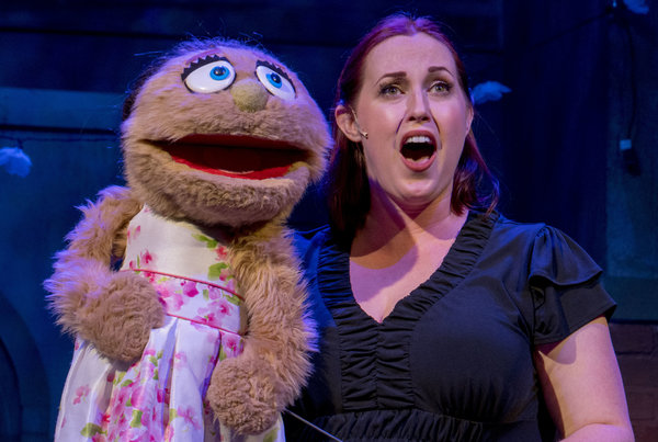 Photo Flash: First Look at AVENUE Q at New Village Arts