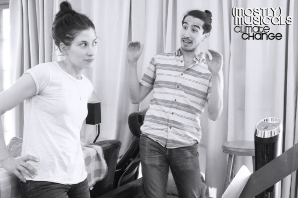 PHOTO FLASH: (mostly)musicals In Rehearsal For CLIMATE CHANGE Tonight, Memorial Night, At Vitello's