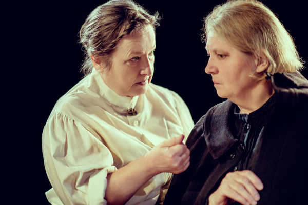 Veronica Roberts (Mrs Gascoyne) Tessa Bell-Briggs (Mrs Purdy) Photo