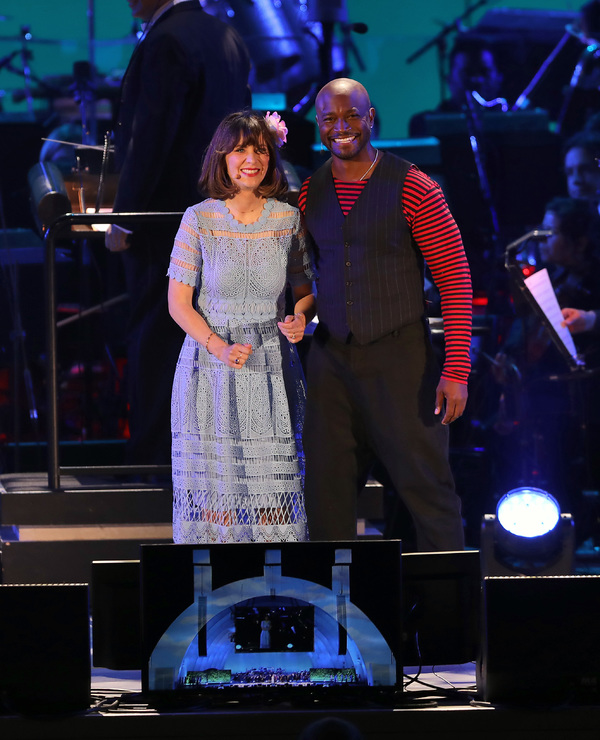 Photo Flash: Zooey Deschanel, Kelsey Grammer, Jane Krakowski, Taye Diggs, Rebel Wilson, Anthony Evans And More Sing BEAUTY AND THE BEAST at The Hollywood Bowl!