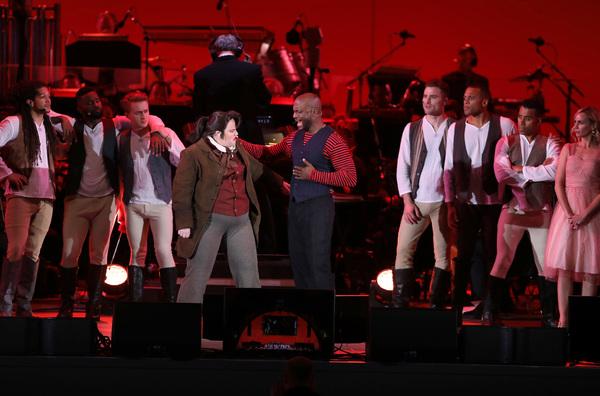 Rebel Wilson as LeFou and Taye Diggs as Gaston
