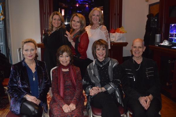 FRONT: Laila Robins, Gretchen Cryer, Jana Robbins, Jimmy Horan BACK: Corinna Sowers Adler, Randie Levine-Miller, Cheryl Benton