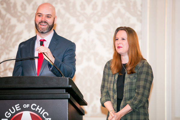 Photo Flash: Chicago Theatre Community Turn Out for League of Chicago Theatres Annual Gala