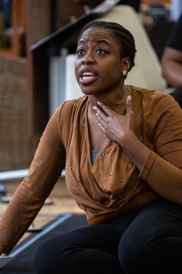 Photo Flash: First Look at THE SECRET LIVES OF BABA SEGI at the Arcola