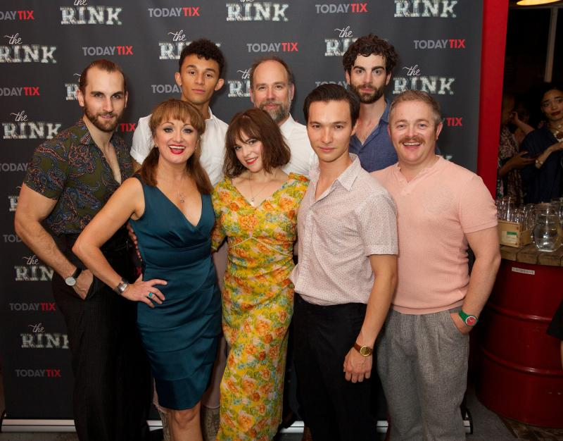 Photo Flash: On the Red Carpet at Press Night of THE RINK