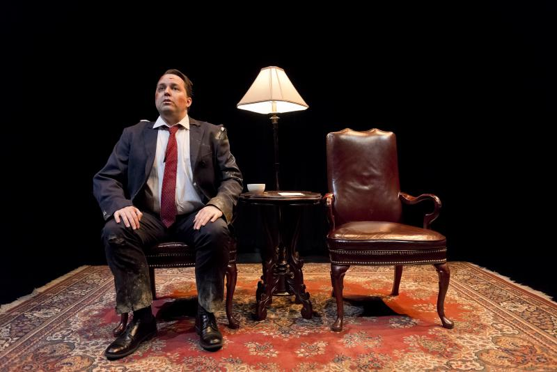 BWW Review: JIM LEHRER AND THE THEATER AND ITS DOUBLE AND JIM LEHRER'S DOUBLE - Double the Jims, Double the Fun