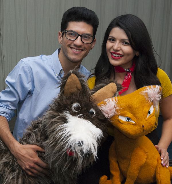 Photo Flash: First look at the Cast of THE PET PLAY