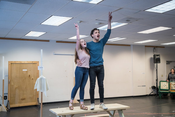 Photo Flash: In Rehearsal with A.C.T.'s A WALK ON THE MOON