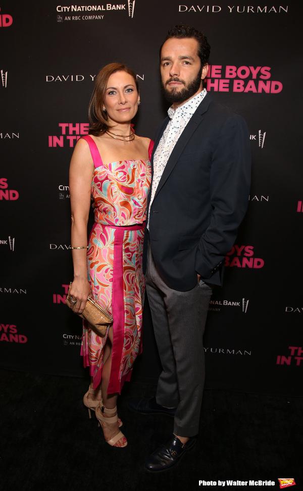 Laura Benanti and Patrick Brown Photo