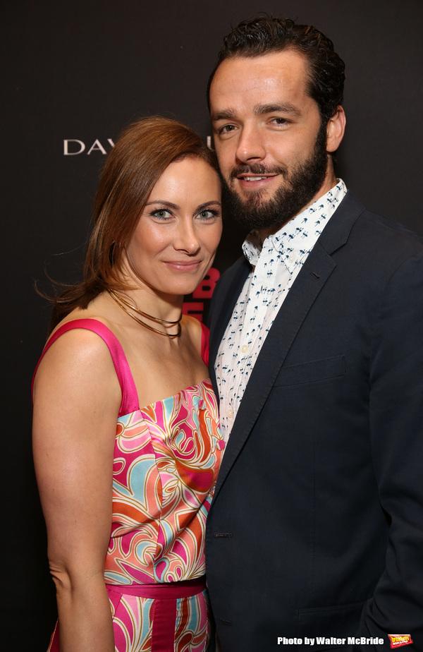 Laura Benanti and Patrick Brown