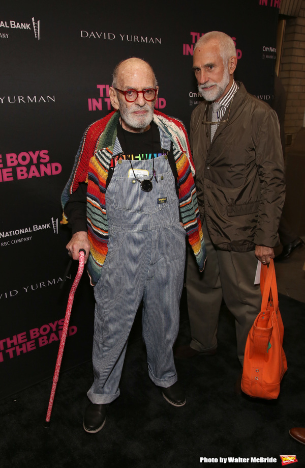 Larry Kramer and William David Webster  Photo