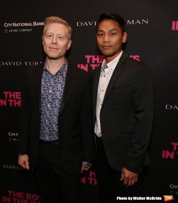 Anthony Rapp and Ken Ithiphol
