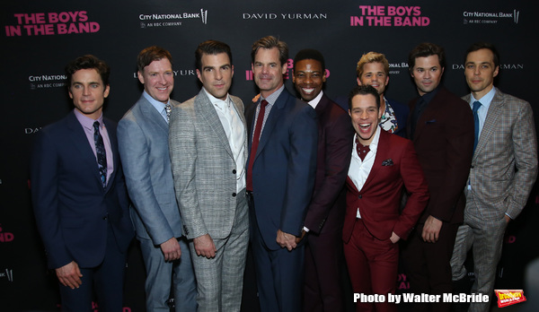 Matt Bomer, Brian Hutchison, Zachary Quinto, Tuc Watkins, Michael Benjamin Washington Photo