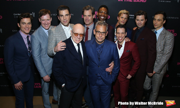 Matt Bomer, Brian Hutchison, Zachary Quinto, Mart Crowley, Joe Mantello, Tuc Watkins, Michael Benjamin Washington, Charlie Carver, Robin de Jesus, Andrew Rannells and Jim Parsons
